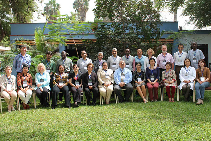 Group picture of the LINQED meeting participants and organisers.