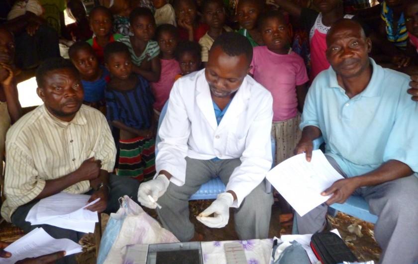 Sleeping sickness screening in the DRC